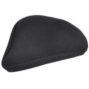 Trixes Premium Gel Tech Bike Saddle Seat Cover Size 22.5cm X 25.5cm Pgsad2b