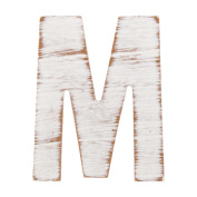 On the Surface Rustic Letter M by Horizon Group USA