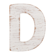 On the Surface Rustic Letter D by Horizon Group USA
