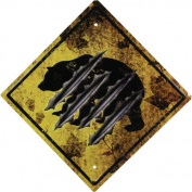 River's Edge Bear 29cm Crossing Sign