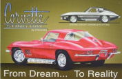 Chevrolet Chevy Corvette Stingray From Dream to Reality Tin Sign Multi-Coloured