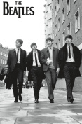 The Beatles In London Wall Poster 60cm x 90cm