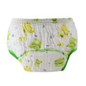 Voberry Reusable Baby Infant Printed Floral Cloth Nappy Washable Snap Nappy