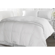 ELLE HOME 500 Thread Count 100% Cotton Damask Cover Down Alternative Comforter