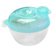 Polytree 3 Interlayer Milk Powder Dispenser Baby Food Storage Container Feeding Box