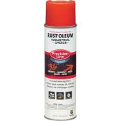 Rustoleum M1800 System Precision Line Inverted Water Based Marking Spray Paint, Alert Orange