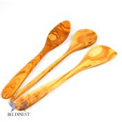 Sale! Handmade Olive Wood Set of 3 Wooden Kitchen Tool/ Utensils