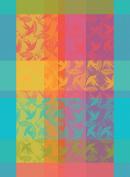 Garnier Thiebaut, Mille Colibris (1000 Hummingbirds), Antilles, French Jacquard Kitchen Towel, 100 Percent Cotton, 60cm x 80cm