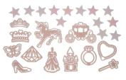 "Simba 273868060cm Glow in The Dark - Princess"" Wall Stickers Set"