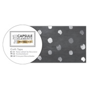 Elements Metallics Papermania Collection - Silver Spot Craft Tape