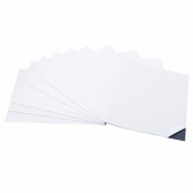 totalElement 20cm x 25cm Strong Flexible Self-Adhesive Magnetic Sheets Peel & Stick Refrigerator Magnet Sheets
