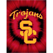 Crover NCAA Team USC Trojans College Throw Blanket