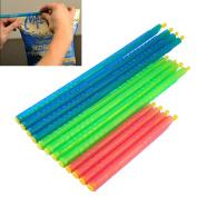 Kicode Slide-On Bag Sealer Sticks Chip Clips Plastic Bag Sealer Stick For Food Containing, Herbs.