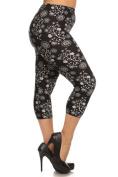 Womens Plus Size Botanical Bunch Leggings