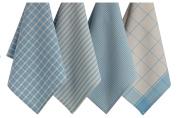 Design Imports Dishtowel Set (Set of 4), Dusk Blue