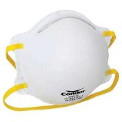 Condor 22EL81 Universal White Disposable Particulate Respirator