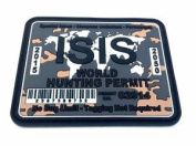 Isis World Hunting Permit Camo Pvc Große Airsoft Klett Patch