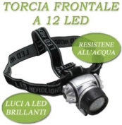 Light Front Torch 12 – 14 Led Lamp Fishing Hunting Hobby
