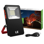 Le 10w Portable Led Flood Lights, 700lm Rechargeable Camping Lantern, 5400mah