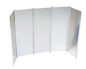 Camp Gear Unisex Ca Aluminium Windbreak Grey 26 X 49 Cm