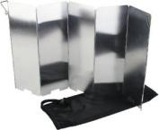 Yellowstone Aluminium Folding Wind Shield - Multi-colour