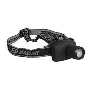 500lm 5w Led Head Light Headlamp 3 Lighting Modes Zoomable Flashlight Battery