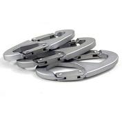 Kalaixing Brand Practical Outdoor Sports 8-shaped Small Carabiner Snap Aluminium