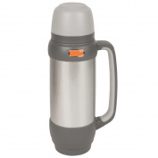 B#camp Gear Insulated Thermos Bottle Drink Sealing Pot 1 L Stainless Steel 73025