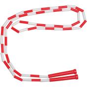 School Smart 2.1m Plastic Links Jump Rope, Red