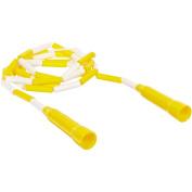 School Smart 2.4m Plastic Links Jump Rope, Yellow