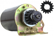 NEW STARTER MOTOR FITS SCOTTS TRACTOR L2048 L2548 S2046 S2546 WITH FREE GEAR