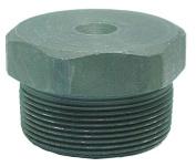 ANVIL 0361313000 Hex Head Plug, 6000, 1.3cm ., NPT