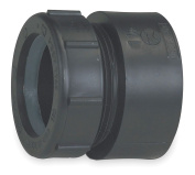 2.5cm - 1.3cm x 2.5cm - 0.6cm Female Trap Adapter with Nut and Washer, Hub x Slip Joint Connexion Type - 1WJL7