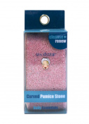 Spa Sister Curved Pumice Stone, Pink