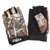 Fingerless Gloves Breathable Antiskid Fishing Gloves Outdoor Waterproof Sun Protection Gloves