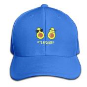 Let's Avocuddle Shirt Fanny Vegan Vegetarian Adjustable Baseball Caps Unstructured Dad Hat 100% Cotton Black