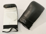 Last Punch Ultimate Fight Punch Bag Mitts Bag Gloves Black & White S M L XL Size