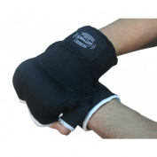 Last Punch MMA Black Wrist Strap Training Gloves Good Quality All Sizes S to XL