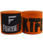 Forza MMA 460cm Mexican Style Boxing Handwraps - KTFO Orange