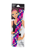Pomchies Fiesta Multi Colour Pom Braid Headband