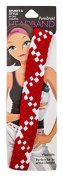 Pomchies Multi Colour Pom Braid Headband, Red/White