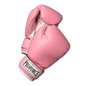 ProForce Leatherette Boxing Gloves – Pink w/White Palm - 300ml