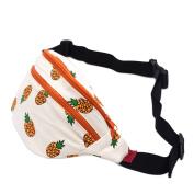 Fanny Pack Pineapple Hip Bag Waist Bag Canvas Bum Belt Hip Pouch Bags Purses Festival