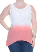BCX Coral Top Blouse Sleeveless Size L NWT - Movaz