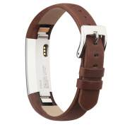 For Fitbit Alta Bands/Fitbit Alta HR Bands, Genuine Leather Replacement Bands for Fitbit Alta/Fitbit Alta HR