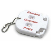 On Course Score Keeper (Stroke & Putter Counter & Chain) Accessory Golf NEW