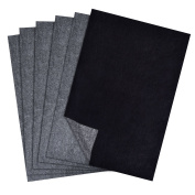 Hotop 100 Sheets Carbon Transfer Paper, Black Tracing Paper for Wood, Paper, Canvas and Other Art Surfaces, 23cm by 33cm