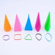 Quilling Shapes & Designs Border Buddy Tool 5 Shape Towers Quilling Tools Kit
