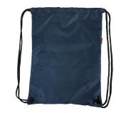 Drawstring Backpack Gymsack Sport Cinch Bag Gym Bag Shoe Bag Wet Tote Bag, Navy