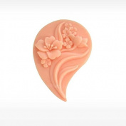 3D Flower 02 Craft Art Silicone Soap mould Craft Moulds DIY Handmade Candle mould Chocolate Mould moulds
